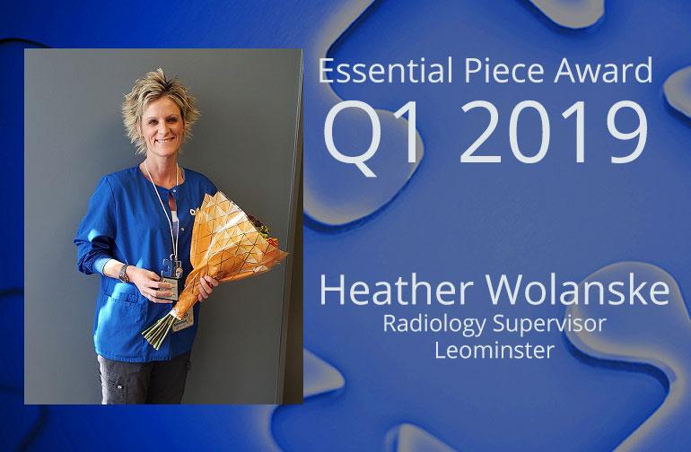 Heather Wolanske is This Quarter's Essential Piece!