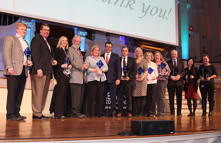 Congratulations to our 2018 Annual Awards Winners!