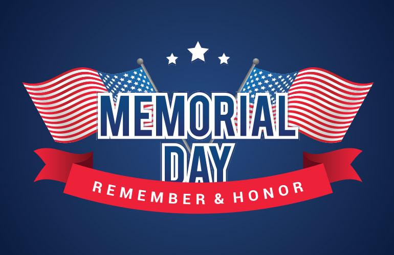 Memorial Day Holiday Notice 2020