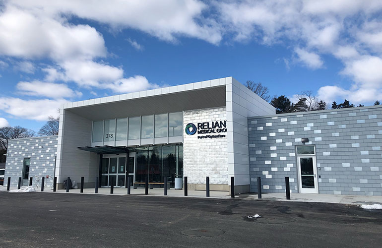 Reliant Medical Group's New Shrewsbury Location Featured