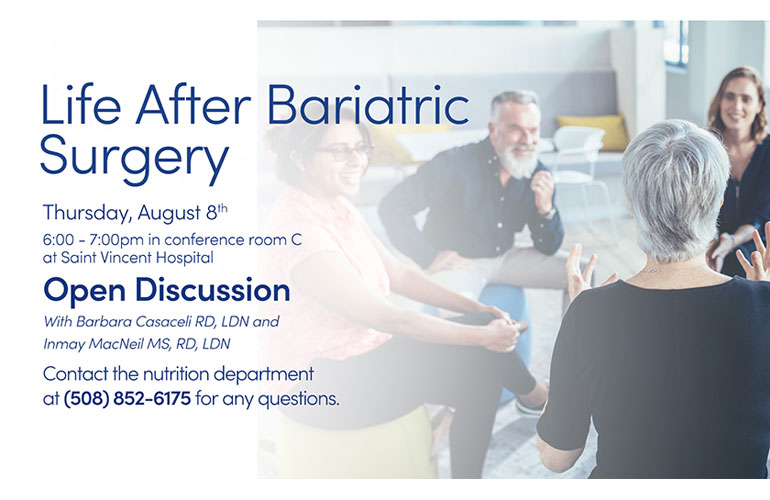 Life After Bariatric Surgery Group -August 2019
