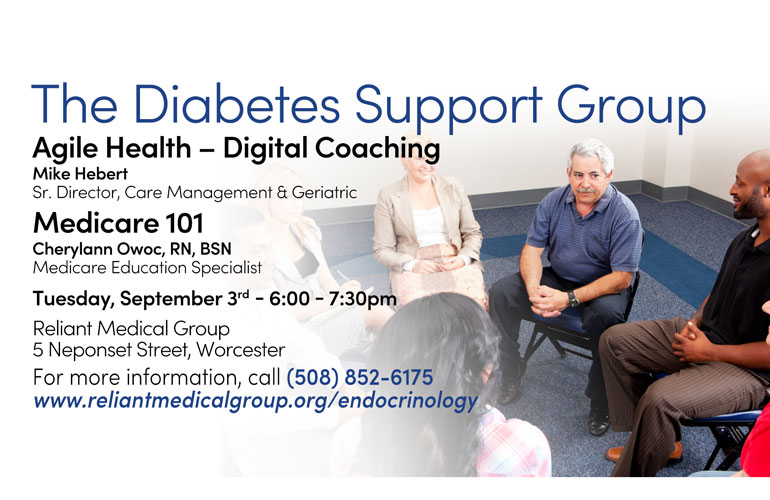 Diabetes Support Group – September 2019