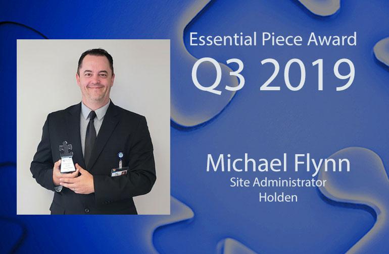 Michael Flynn is this Quarter's Essential Piece!