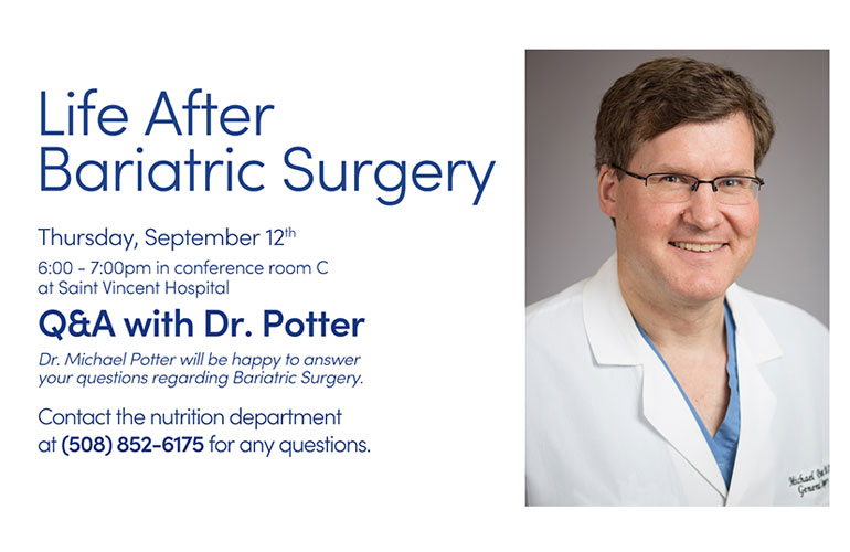 Life After Bariatric Surgery Group -September 2019
