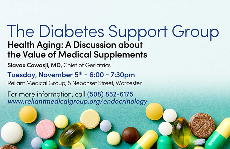 Diabetes Support Group – November 2019