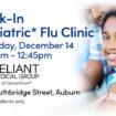 Walk-In Pediatric Flu Clinic in Auburn