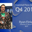 Ryan Finlay is this Quarter's Essential Piece!