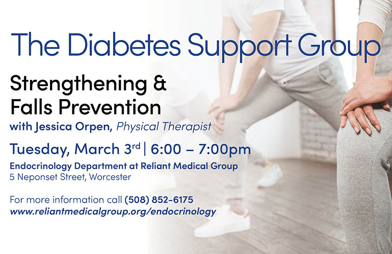 Diabetes Support Group – March 2020