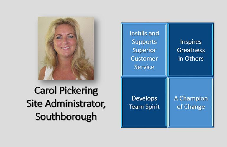 Carol Pickering is this Quarter's Essential Piece!