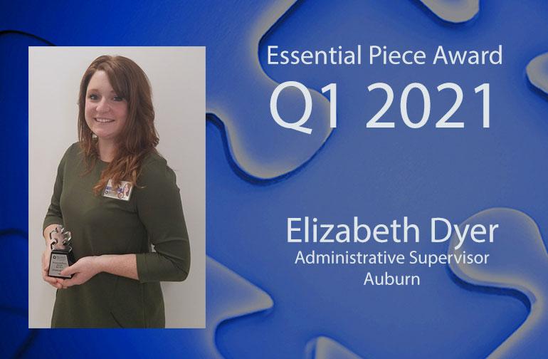 Liz Dyer is this Quarter's Essential Piece!